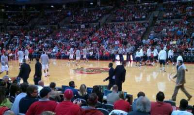 Value City Arena, section: 105, row: G, seat: 9
