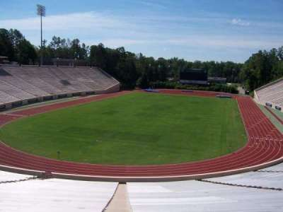 Wallace Wade Stadium, section: 17