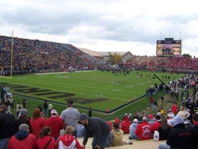 Ross-Ade Stadium, section: 119, row: 17, seat: 8