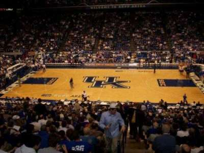 Rupp Arena, section: 14, row: Y, seat: 1
