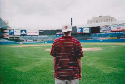 Old Yankee Stadium, section: Behind Home Plate