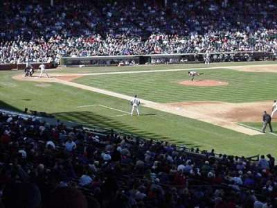 Wrigley Field, section: 135