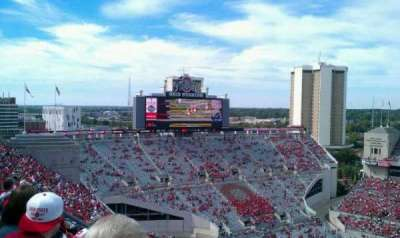 Ohio Stadium section 18C