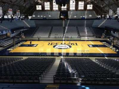 Hinkle Fieldhouse, section: 21, row: KK, seat: 37