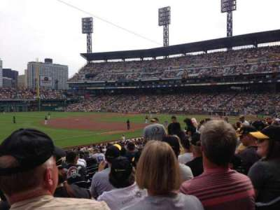 PNC Park, section: 128, row: M, seat: 12