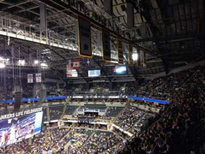 Bankers Life Fieldhouse section 227