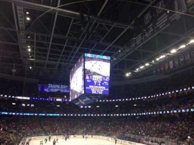 Amalie Arena section 110