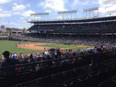 Wrigley Field, section: 206, row: 3, seat: 1