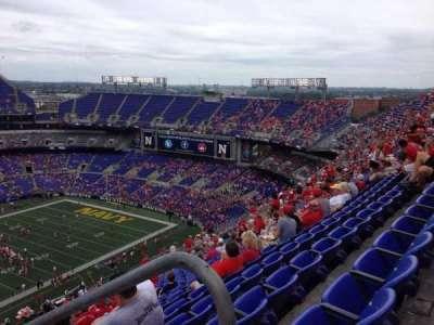 M&T Bank Stadium, section: 503, row: 24, seat: 1