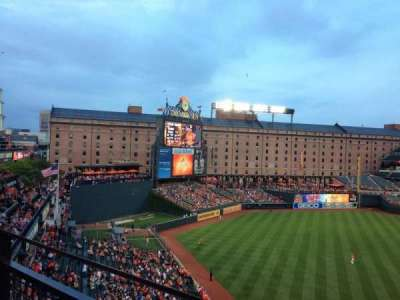 Oriole Park at Camden Yards, section: 378, row: 1, seat: 18