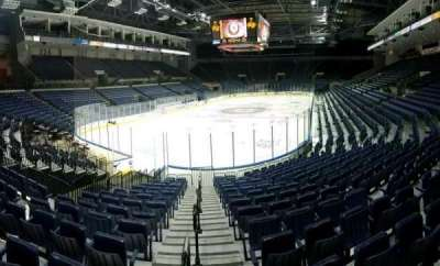 Stockton Arena, section: 120, row: 14, seat: 1