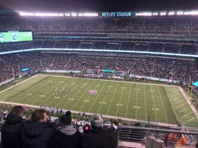 MetLife Stadium section 312