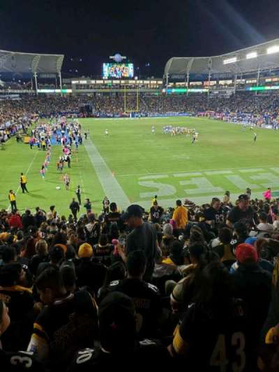 Dignity Health Sports Park section 124