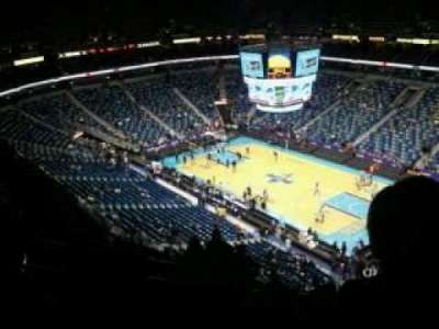 Smoothie King Center, section: 312