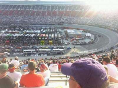 Bristol Motor Speedway section Pearson L