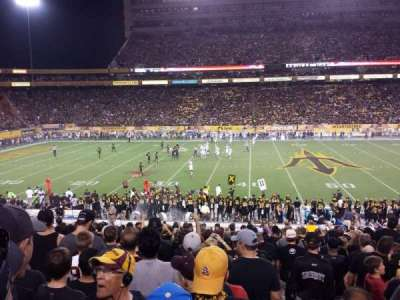 Sun Devil Stadium, section: 31, row: 31, seat: 1