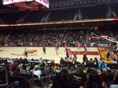 Galen Center, section: 118, row: 11, seat: 12