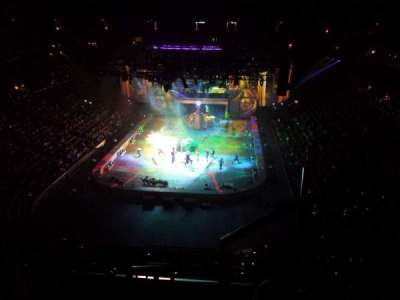Honda Center, section: 444, row: F, seat: 1