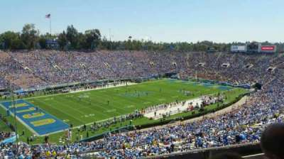 Rose Bowl, section: Club D111, row: B, seat: 16