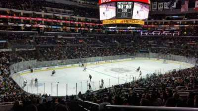 Staples Center, section: PR9, row: 12, seat: 1