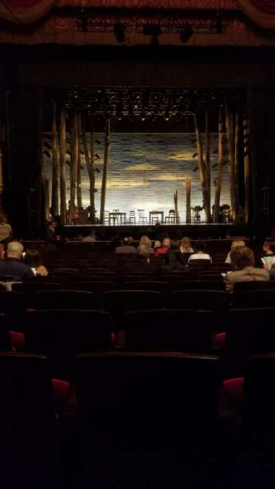 Academy of Music, section: Parquet Circle F, row: N, seat: 109