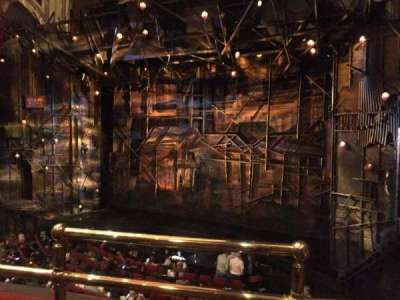 Broadway Theatre - 53rd Street, section: Front Mezzanine, row: B, seat: 1