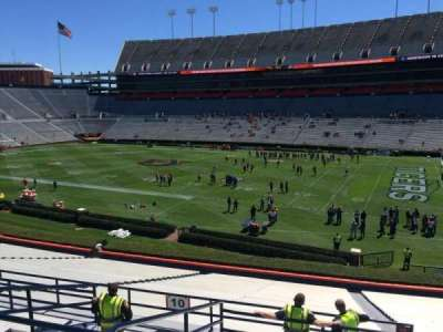 Jordan-Hare Stadium, section: 10, row: 37, seat: 5