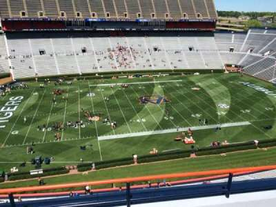 Jordan-Hare Stadium, section: 104, row: 5, seat: 7