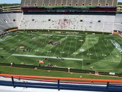 Jordan-Hare Stadium, section: 108, row: 5, seat: 7