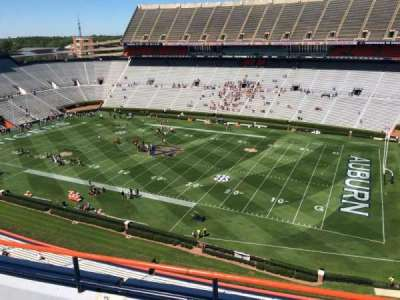 Jordan-Hare Stadium, section: 111, row: 5, seat: 7