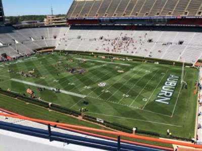 Jordan-Hare Stadium, section: 112, row: 5, seat: 7