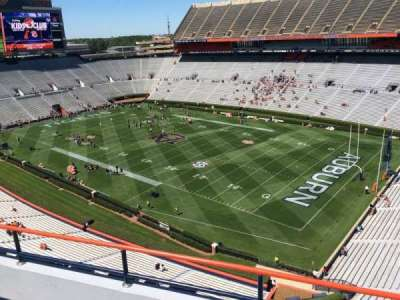 Jordan-Hare Stadium, section: 114, row: 5, seat: 3