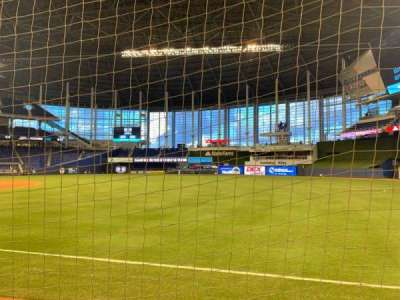 Marlins Park, section: 3, row: D, seat: 1