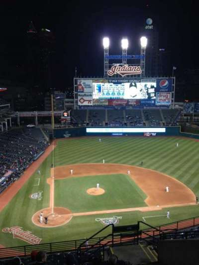 Progressive Field section 550