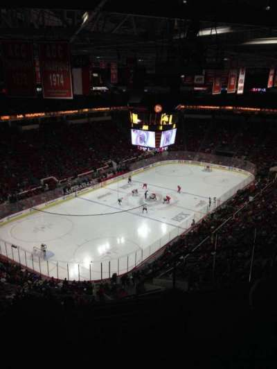 PNC Arena, section: 330, row: G, seat: 4