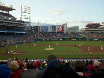 Nationals Park, section: 128, row: GG, seat: 7