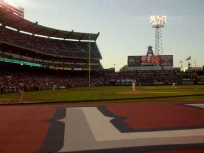 Angel Stadium, section: F123, row: C, seat: 7