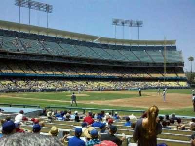 Dodger Stadium section 28FD