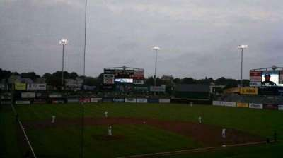 McCoy Stadium, section: 5, row: GG, seat: 3