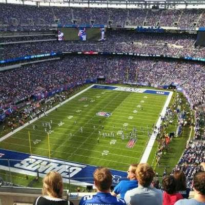 MetLife Stadium, section: 323, row: 10, seat: 17