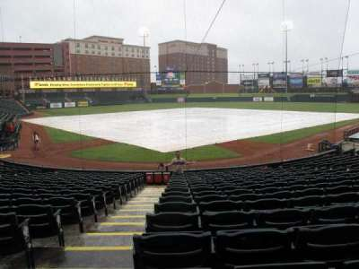 Chickasaw Bricktown Ballpark, section: 111, row: D, seat: 9