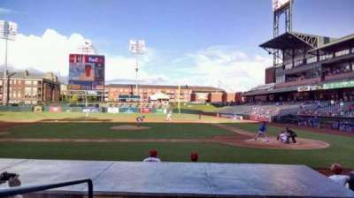 AutoZone Park, section: 106, row: H, seat: 18