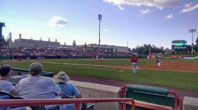 Joseph L. Bruno Stadium, section: 220, row: D, seat: 1