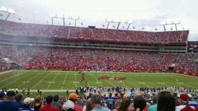 Raymond James Stadium, section: 234, row: G, seat: 11