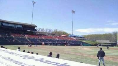 Prince George's Stadium, section: 115, row: C, seat: 9