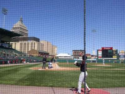 Frontier Field, section: 112, row: C, seat: 5
