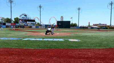 MCU Park, section: 102, row: A, seat: 5