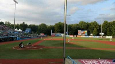 Dutchess Stadium, section: 104, row: H, seat: 14