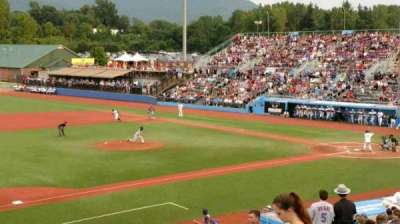 Dutchess Stadium section 3rd Base line GA