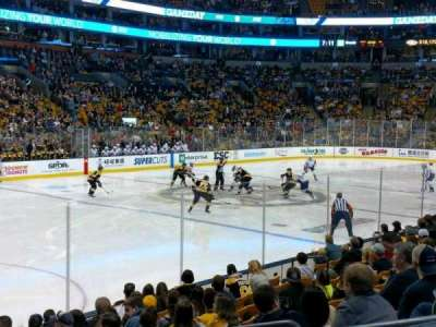 TD Garden section Loge 3